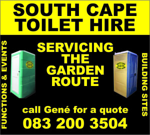 south cape toilet hire